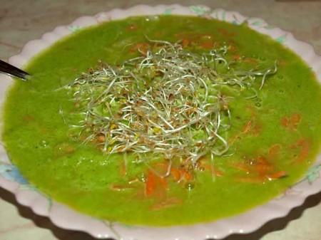суп из проростков