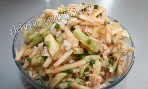 рецепты сыроедение салат