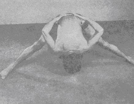 Кати-шакти-викасака (укрепление мышц спины)