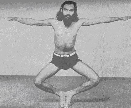 Падангули-шакти-викасака (укрепление носков ног)